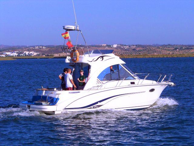 Paseos en barco por la costa de Huelva