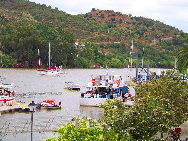 Paseo en barco por El Guadiana